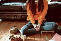 winter fashion / k fashion