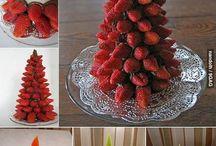 zöldség és gyümi figurák