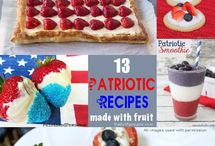 4th of July / All things 4th of July - crafts, decor, and recipes!
