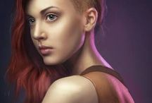 Sci Fi Chick Hairstyles