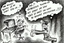Caricatura / Caricatura este cel mai diplomat mod pentru a spune adevaruri fara sa jignesti pe cineva. Tot ce vedeti aici este desenat din mana folosind doar un  pix negru pe hartie alba .