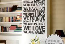 FRASES E CITAÇÕES /  A Casa D´art oferece uma vasta gama criativa de Frases e Citações. Personalize qualquer área de casa ou escritório com estas incríveis Frases e Citações.