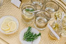 Signature drinks / Inspiration for parties and receptions