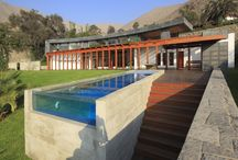 Open spaces / How to design the garden,the swimming pool,the patio etc. An outdoor lifestyle...