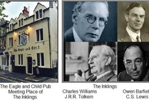 THE INKLINGS / Is there any pleasure on earth as great as a circle of Christian friends by a good fire?  C S Lewis Without apology I copy a Board and may include others who might have joined the Inklings for a pint had they been in Oxford at the time.