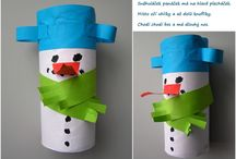 Výrobky z ruliček-zima