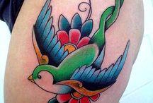 old school butterfly tattoo