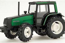 Valmet and Valtra tractors