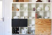 Ikea hacks / Great design DIYs from Ikea furniture and wares.