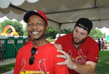 BJC Day at the Ballpark 2014 / Every year, employees from across the system gather in downtown St. Louis for a celebration that includes autographs from current and former St. Louis Cardinals, all kinds of summer entertainment and a ballgame. It's fun for the whole family. / by BJC HealthCare