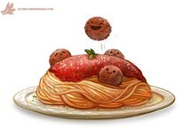 Chibi food art