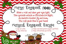 School: December / Gingerbread Man, Christmas, Polar Express
