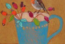 Kleine schilderijtjes
