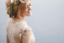 Wedding  / Ideas, hair, dresses, flowers etc.