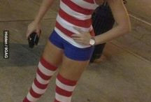 Haunted Where's Waldo Cosplay