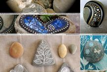 Ζωγραφική σε πέτρες-10