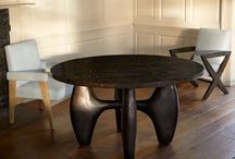 Dining Room Furniture and Ideas / inspiration for cool dining room interiors and furniture, lighting and accessories