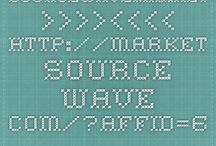 Source-Wave SEO Market / Here you can find the best products on the Source-Wave SEO Market to help You get Your Website More Visible, You can buy Backlinks, Full SEO Services and a lot more...   Think of Fiverr only much better and You can Sell Your Services also on the Source Market just as easy.