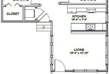 작은 집 설계도