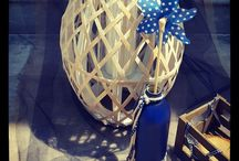Baptism Navy Blue! / Baptism decoration based on navy blue colors