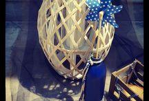 Baptism Navy Blue! / Baptism decoration based on navy blue colors
