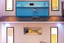 Small guest room/office space