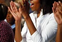 The Obama's / by Marcia Smith
