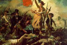 Πίνακες του Γάλλου ζωγράφου Ευγένιου Ντελακρουά