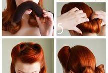 vintage hair