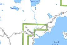 Lost Land Lk Hayward WI / 1264 acres - 21' max depth
