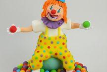 Kims clown cake