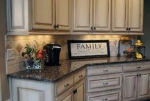 kitchen makeover / by Kacie Franzwa