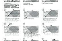 оригами денег