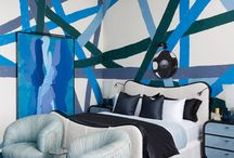 Chic Blue Rooms / Blue Rooms