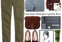 Green Loafers Outfit