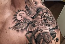 Grey tattoo