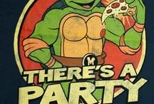 Teenage Mutant Ninja Turtles!! / Leonardo ~ Michelangelo ~ Donatello ~ Raphael / by Melissa Hash
