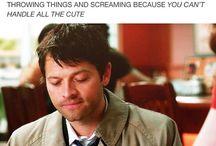 Castiel and Misha