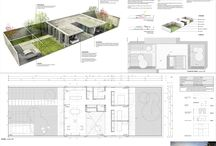 Architectural projects - layouts