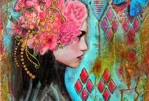 Art journal et Mixed media