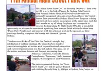 Paint Out on Main Street 2015 / Mingle with World renowned Artists and watch them create masterpieces in 3 hours