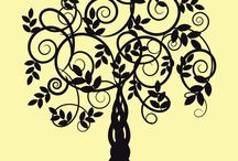 alberi pareti