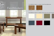 FIELDMODERN / Deriving its inspiration from farm, homestead and factory, FieldModern is an eclectic collection of bold tables that can complement interiors from country to contemporary.