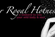 Retreat: Her Royal Hotness / Connect with your divinely sensual self, reclaim your true beauty, and set your Royal Hotness loose on the world! Her Royal Hotness is a revolution, a retreat, a movement; Her Royal Hotness is YOU in your wildest, most powerful glory. #lifecoaching #life #beauty