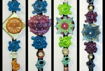 Dharma Dangelies / earrings for houses / Earrings for houses by Eyescape Designs