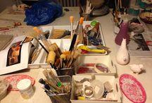 Ceramic atelier / studio/ workshop