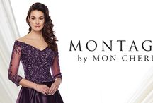 Montage by Mon Cheri / Montage evening gowns by Mon Cheri.