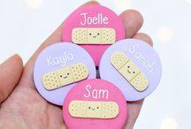 Handmade Name Badges