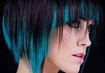 Hair colour and cut