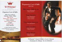 Corsi di ballo / IL_PRINCIPE associazione sportiva dilettantistica Viale Jenner 67 Milano www.il-principe.it